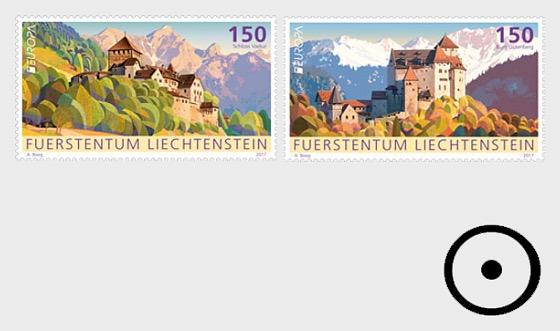 Europa 2017 – Palaces and Castles- (Set CTO) - Set CTO