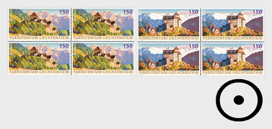 Europa 2017 – Palaces and Castles- (Block of 4 CTO) - Block of 4 CTO