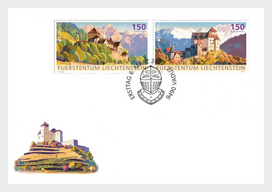 Europa 2017 – Palaces and Castles- (FDC Set) - First Day Cover