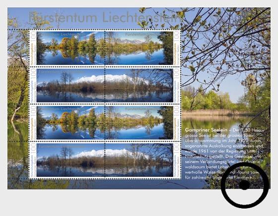 Nature Reserves in Liechtenstein – Gampriner Seelein - Sheetlets CTO