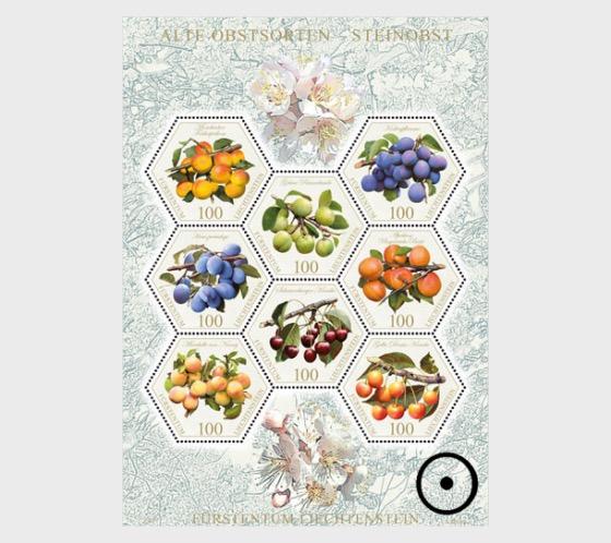 Old Fruit Varieties - Stone Fruit - (Special Stamp Set CTO) - Set CTO