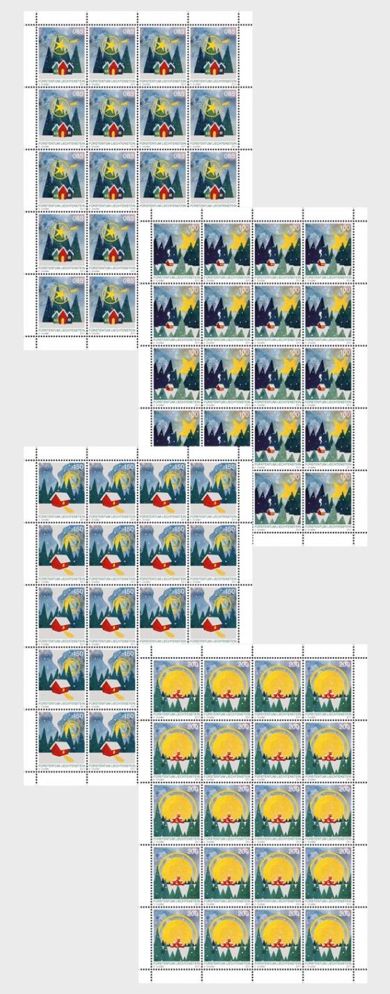 Christmas 2017 - (Sheetlet Mint) - Sheetlets