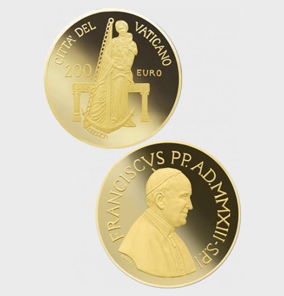 Vatikan - 200 Euro Goldmünze - Theologische Tugenden - Hoffnung (2013) - Goldmünze