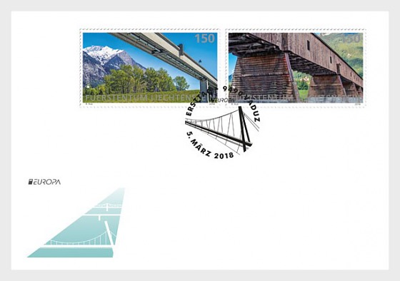 Europa 2018 - Bridges - (FDC Set) - First Day Cover
