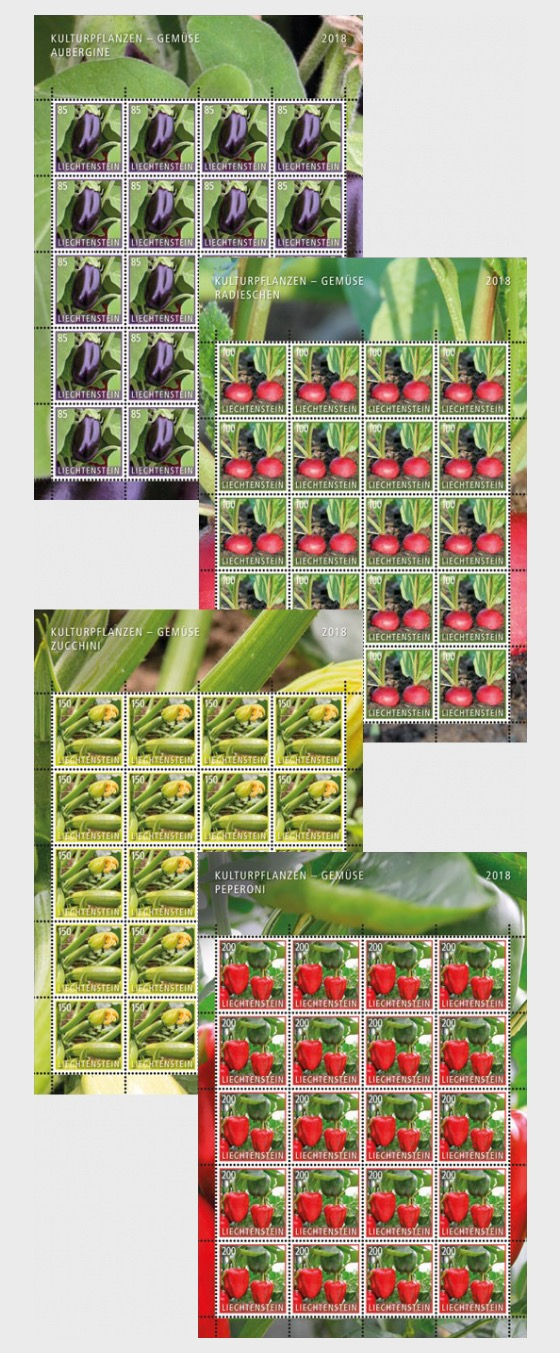Crop Plants - Vegetables - (Sheet Mint) - Full sheets