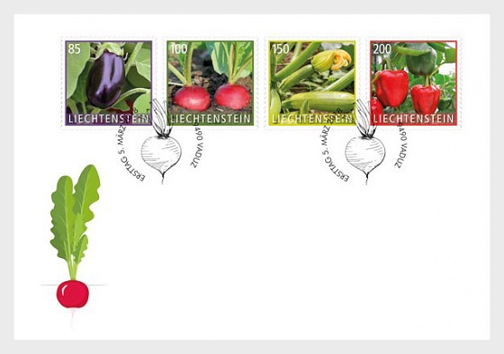Crop Plants - Vegetables - (FDC Set) - First Day Cover