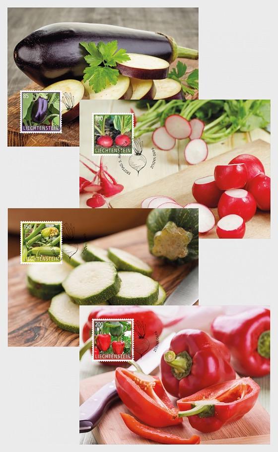 Crop Plants - Vegetables - Maxi Cards