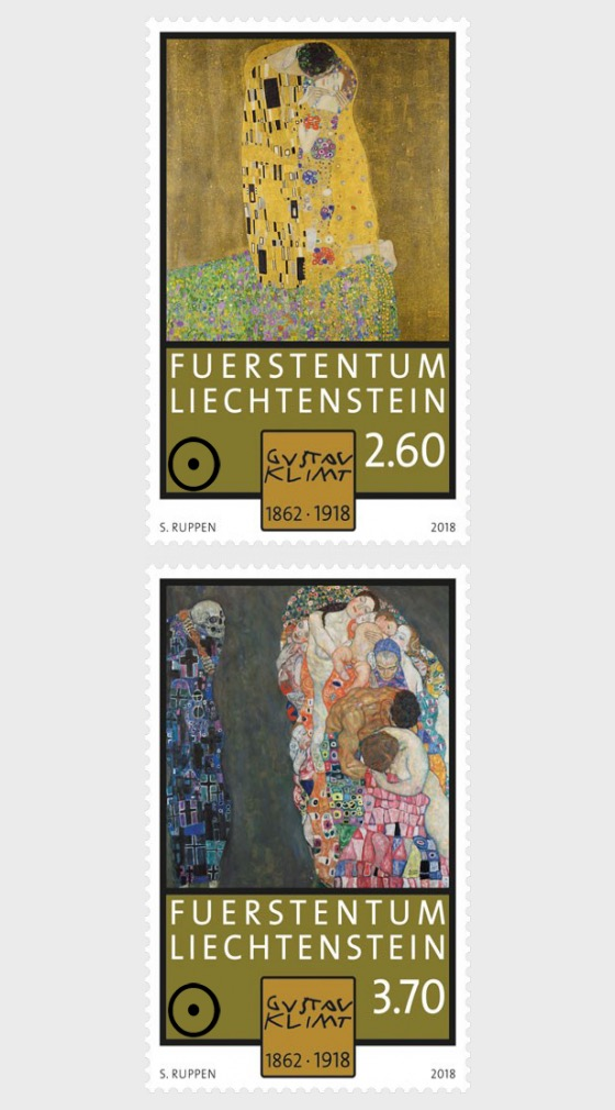 100th Anniversary of the Death of Gustav Klimt - (Set CTO) - Set CTO