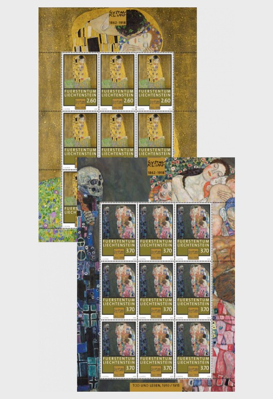 100th Anniversary of the Death of Gustav Klimt - (Sheetlet Mint) - Sheetlets