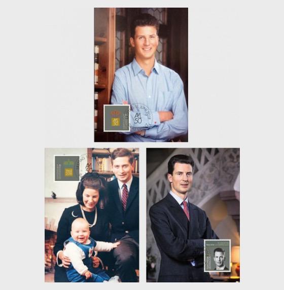 50th Birthday of H.S.H. Hereditary Prince Alois von und zu Liechtenstein - Maxi Cards