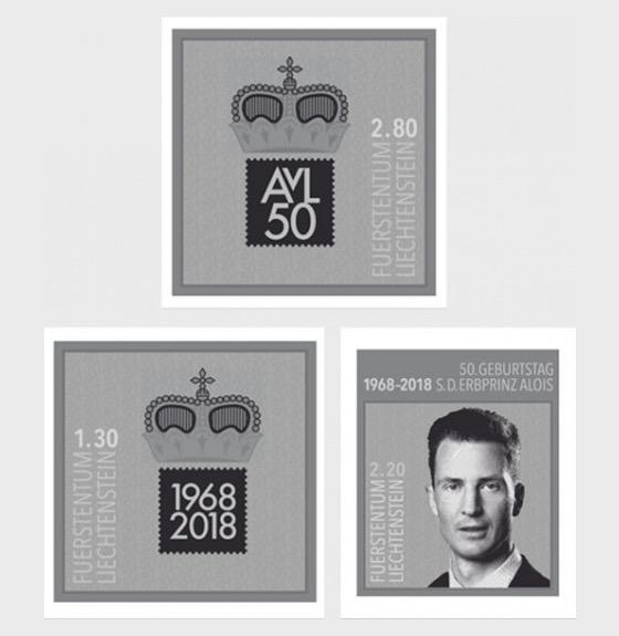 50th Birthday of H.S.H. Hereditary Prince Alois von und zu Liechtenstein - (Black Print Set) - Blackprint