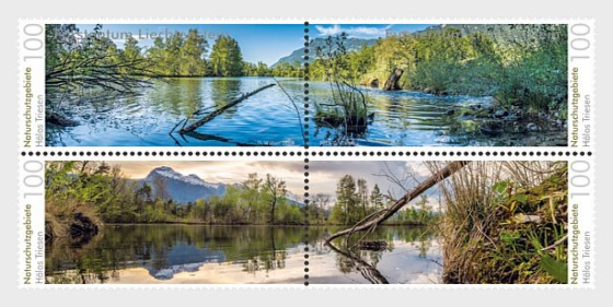 Nature Reserves in Liechtenstein - Halos - (Set Mint) - Set