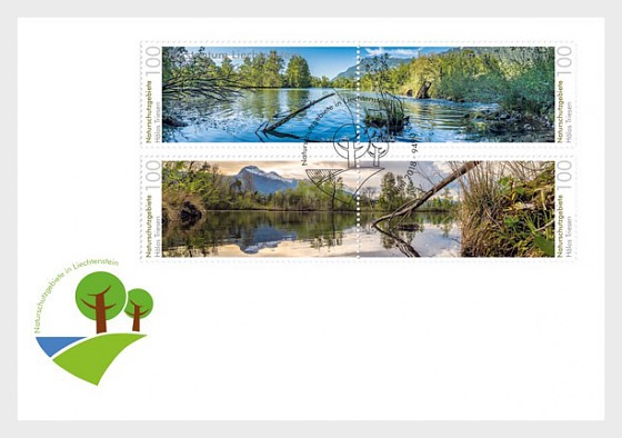Nature Reserves in Liechtenstein - Halos - (FDC Set) - First Day Cover