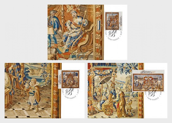 Princely Treasures - Tapestries - Maxi Cards