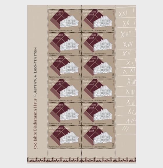 500 Years of the Biedermann House - (Sheetlet Mint) - Sheetlets