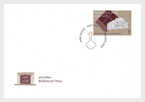500 Years of the Biedermann House - (FDC Set) - First Day Cover