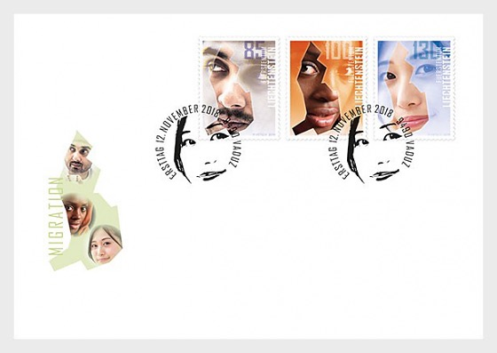Migration - (FDC Set) - First Day Cover