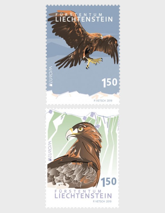 Europa 2019 – National Bird - Set Mint - Set