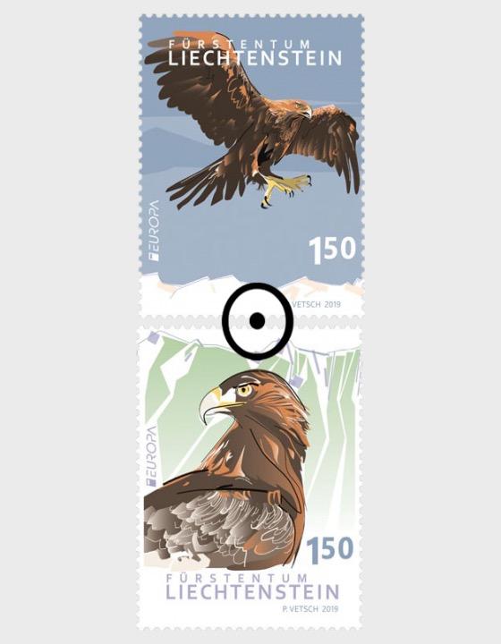 Europa 2019 – National Bird - Set CTO - Set CTO