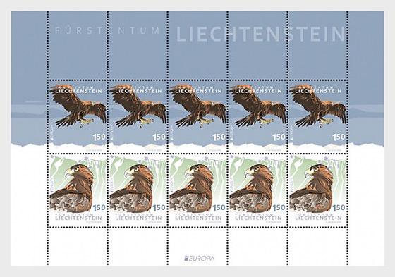 Europa 2019 – National Bird - Sheetlet Mint - Sheetlets
