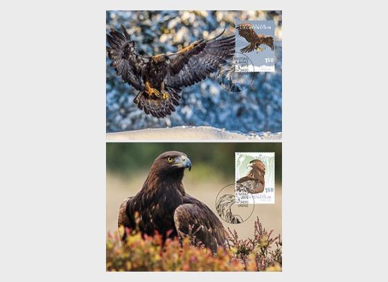 Europa 2019 – National Bird - Maxi Cards