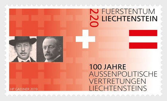 100 Years of Liechtenstein's Foreign Representation - Set Mint - Set