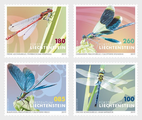 Dragonflies - Set Mint - Set