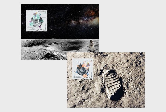 50 Years of First Moon Landing - Maxi Cards