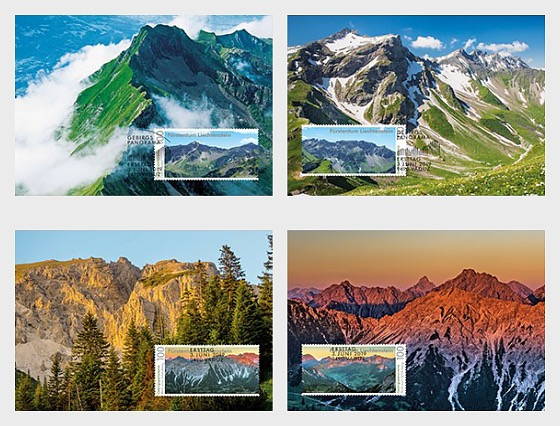 Mountain Panorama - Maxi Cards