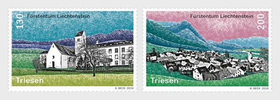 Village Views - Triesen - Set Mint - Set