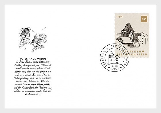 Sepac 2019 - Old Residential Buildings - First Day Cover