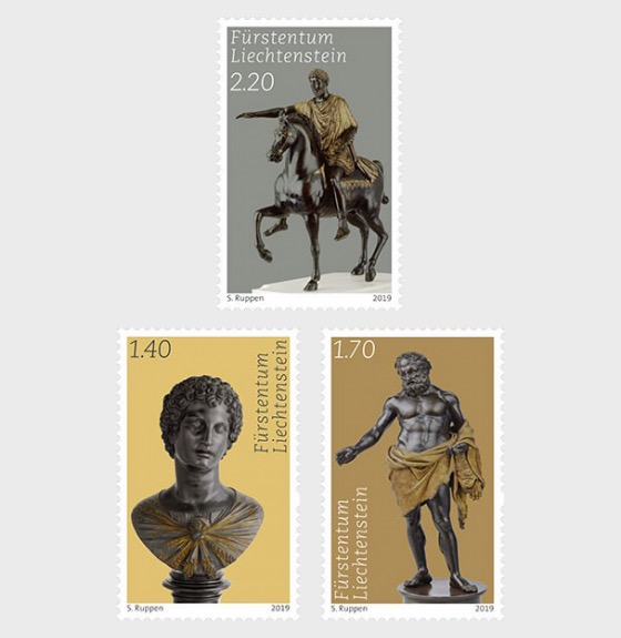 Princely Treasures - Sculptures of Antico - Set Mint - Set