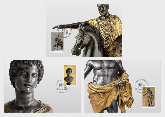 Princely Treasures - Sculptures of Antico - Maxi Cards