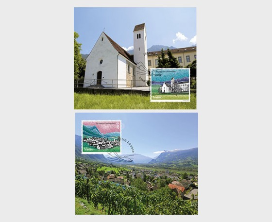 Village Views - Triesen - Maxi Cards