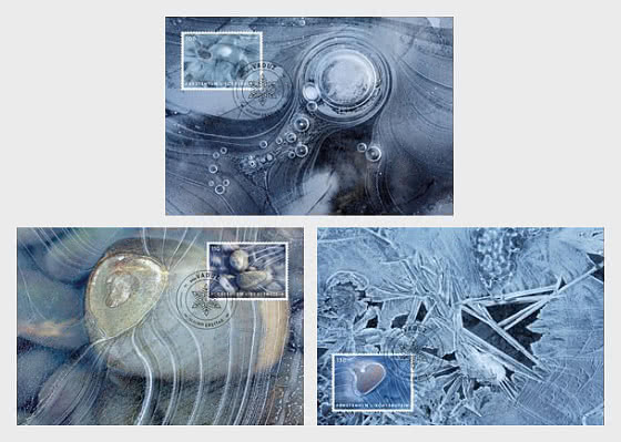 Artistic Photography - Ice - Maxi Cards