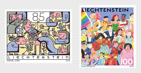 Diversity - Joint Issue with Switzerland - Set Mint - Set