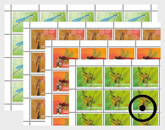 Dragonflies - II - Sheet x20 Stamps CTO - Full sheets