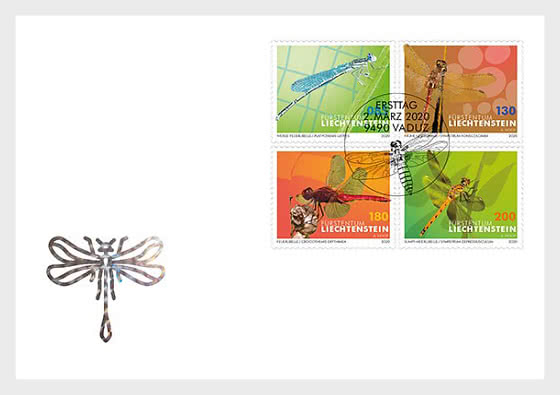 Dragonflies - II - FDC Set - First Day Cover