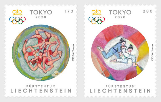 Summer Olympics in Tokyo 2020- Set Mint - Set