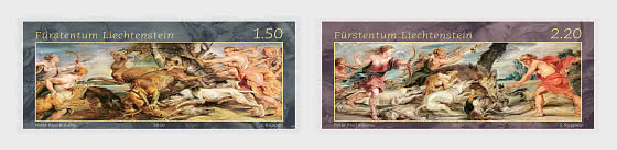 Princely Treasures – Hunting Scenes of Rubens - Set Mint - Set