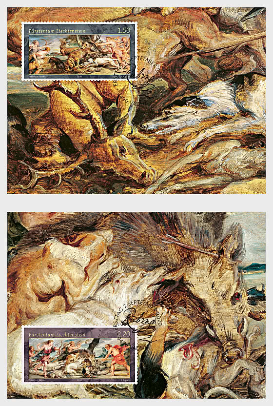 Princely Treasures – Hunting Scenes of Rubens - Maxi Cards