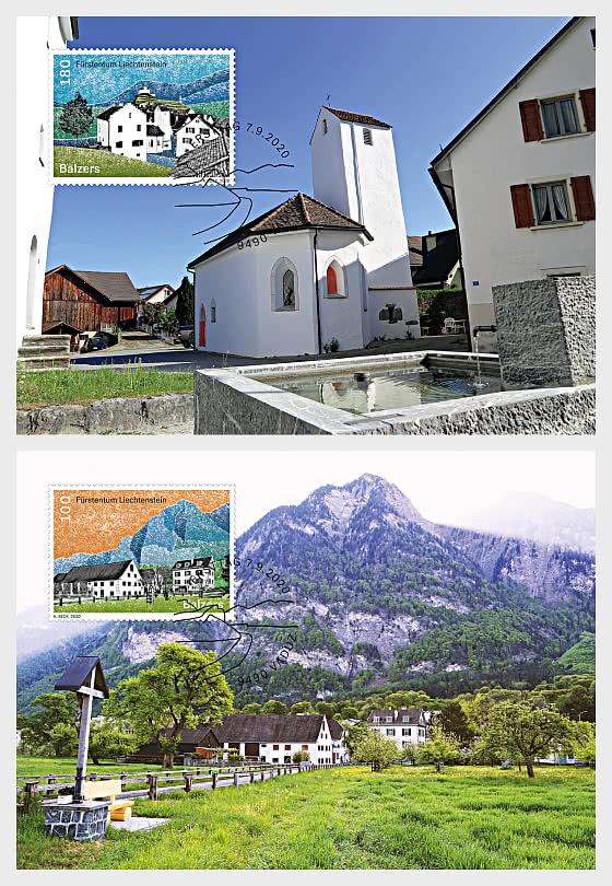 Village Views - Balzers - Maxi Cards