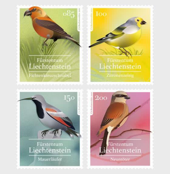 Native Songbirds - Mint - Set