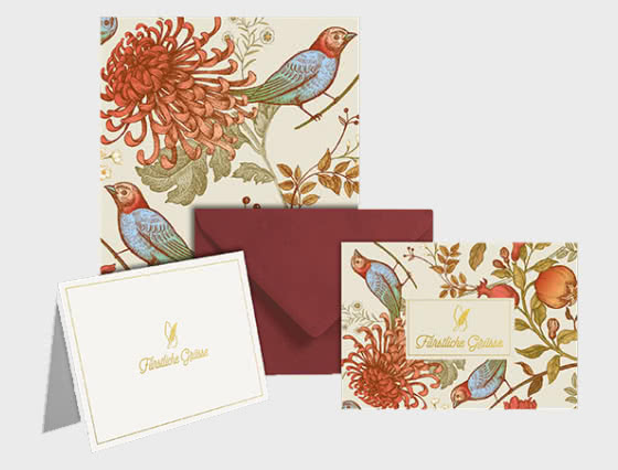 FREE Princely Greetings (Floral) Writing Set for all orders on WOPA - Collectibles