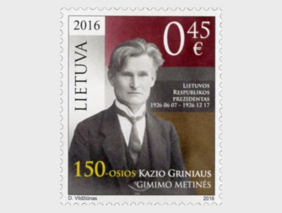 El 150 Aniversario del Nacimiento de Kazys Grinius - Series