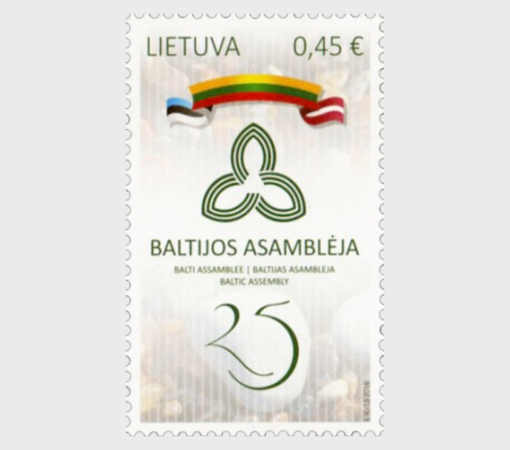 25º Aniversario de la Asamblea Báltica - Emision Conjunta - Series