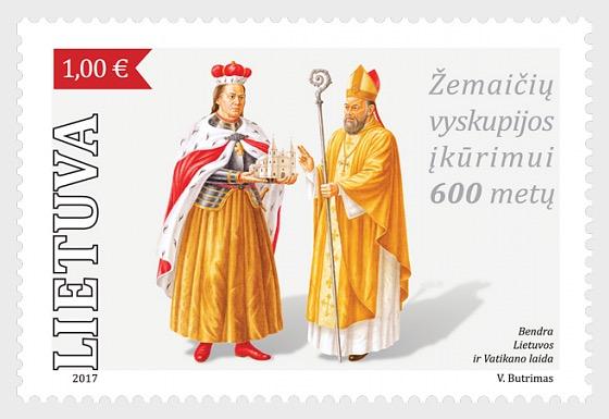 600e Anniversaire de l'établissement Diocésain des Samogitiens - Séries