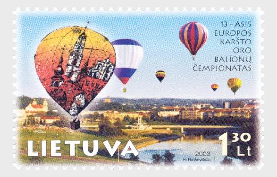 13ème Championnat Européen de Ballon à Air Chaud - Séries
