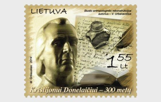 300th Birth Anniversary of K. Donelaitis - Set