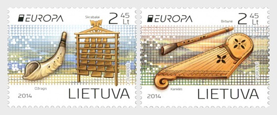 Europe - The National Musical Instruments - Set